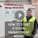 TXM Lean Minute – How to Start a Visual Management Board
