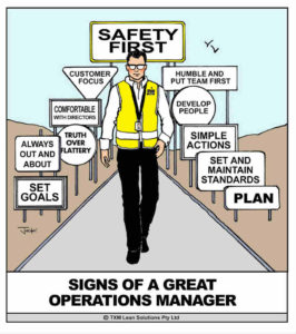 Operations Manager Cartoon