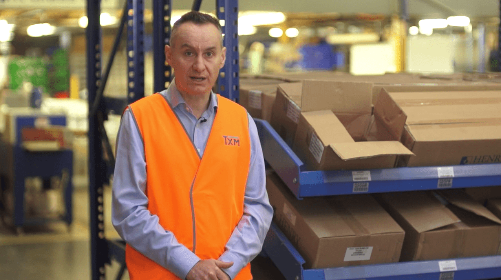 TXM Lean Minute Video – The Most Effective Warehouse Management Technology