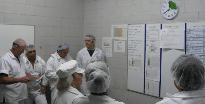 lean manufacturing continuos improvement