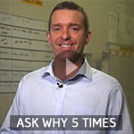 TXM Lean Minute Video – Ask Why Five Times