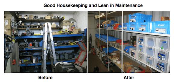 Maintenance as an essential part of Lean