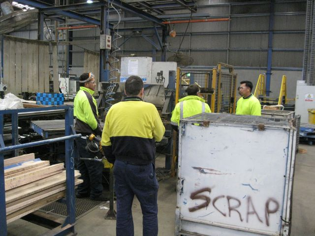 Eliminating waste in a manufacturing environment