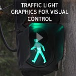 Lean visual control traffic light
