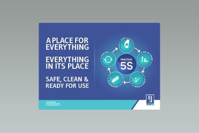 Practical 5S Poster – Landscape