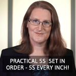 TXM Lean Minute Video – Practical 5S – 5S Every Inch of Your Business!