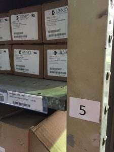 practical visual management for warehousing