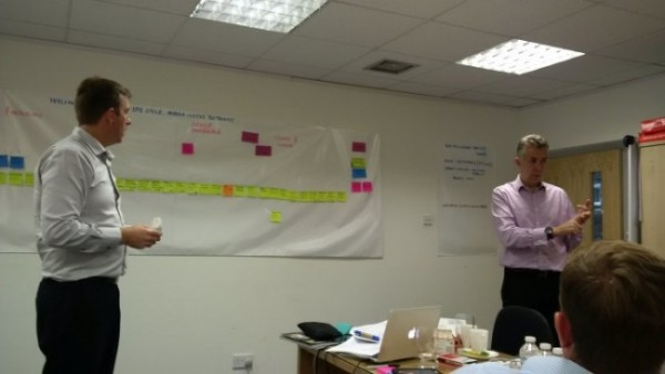 Lean Workshop value stream mapping ivyline