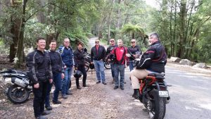 Social events form part of the Best Practice Network calendar as well, such as this bike ride in Victoria
