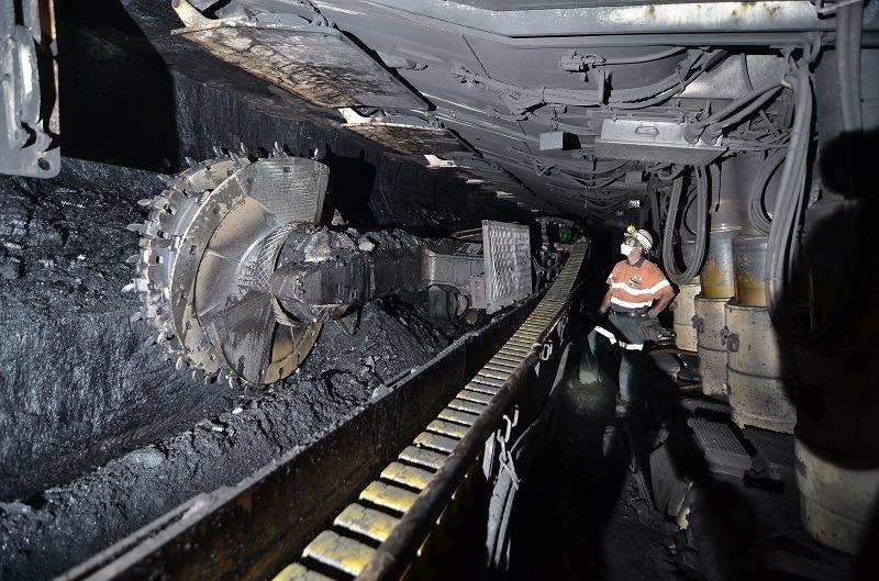Image of Long Wall Coal Mining