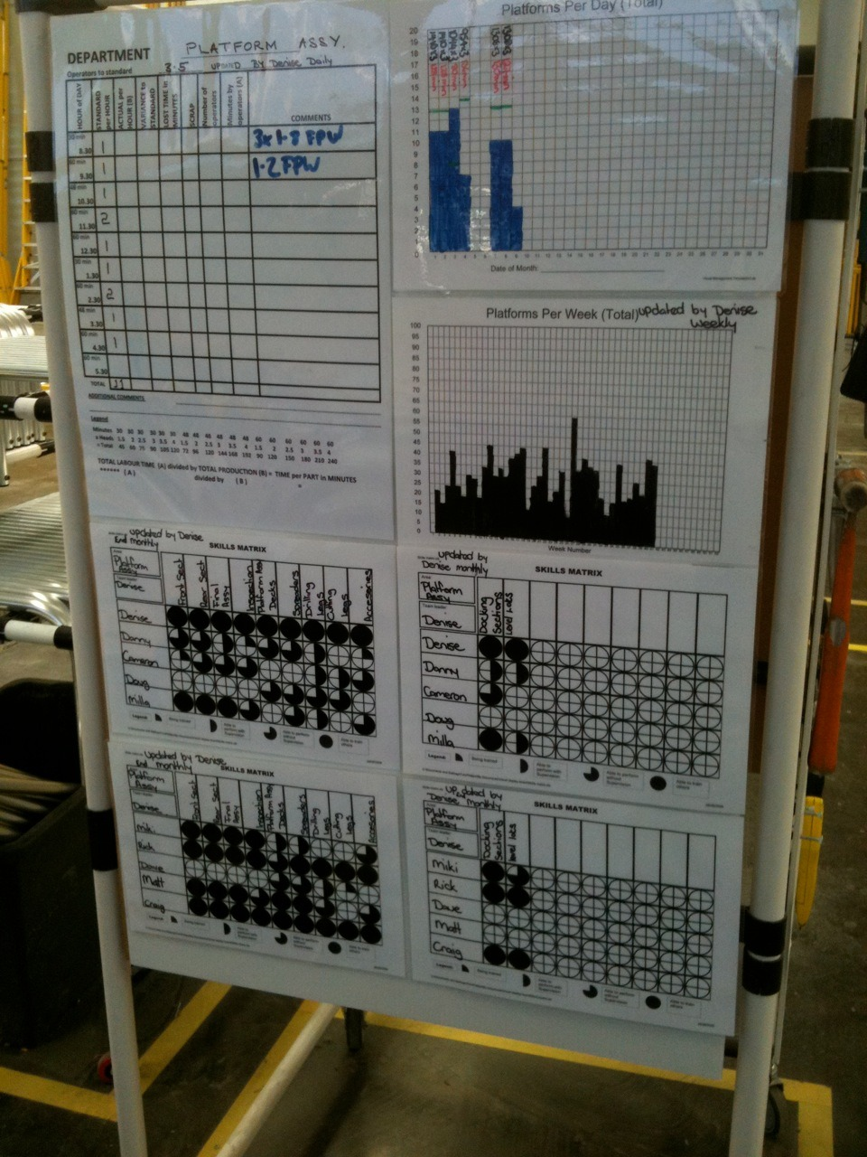 Branach Skills Matrix Photo