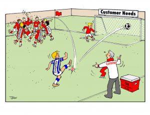 Organisational structure blog cartoon