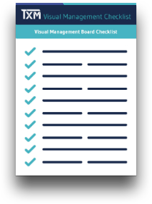 visual management checklist icon