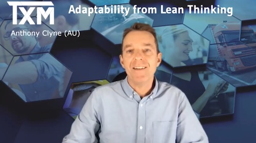 TXM Television – Episode 42 – Adaptability from Lean Thinking