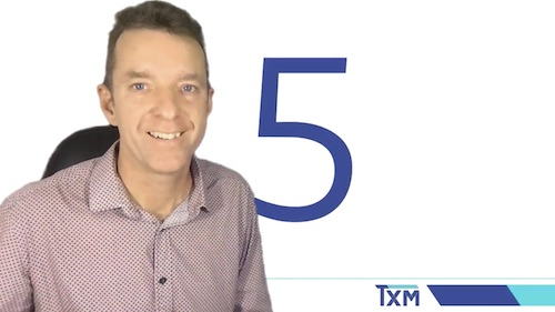 TXM Television – Episode 63 – Engaging Your People in 5S Workplace Organisation