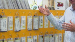 Les cartes Kanban sont utilisés dans un système établi de production en flux tendu.